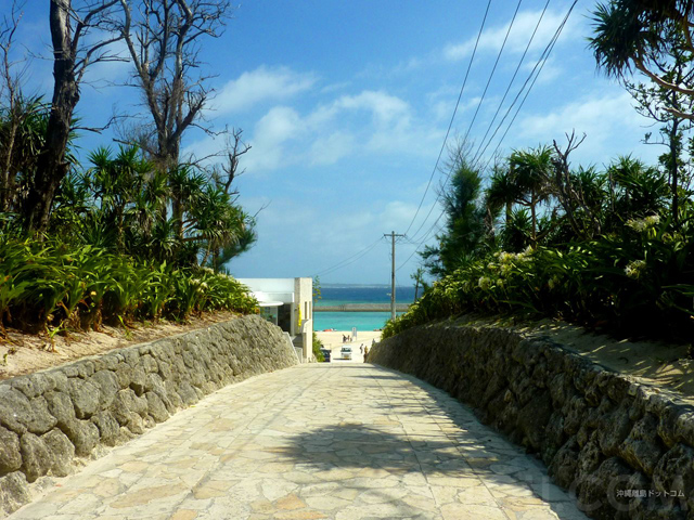 青い海へ誘う絶景の道!沖縄「水納島」の魅力に会いに行こう