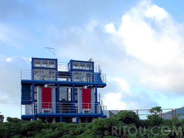 まるでガンダム!格好よすぎる久米島の海洋温度差発電実証設備