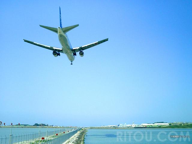 飛行機のお腹を見よう!沖縄・瀬長島の航空機撮影・攻略法