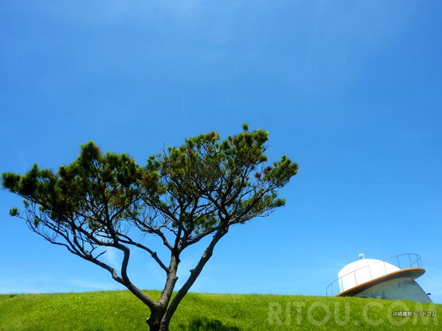 UFO不時着?沖縄・渡嘉敷島の高台に謎の物体!その正体は?