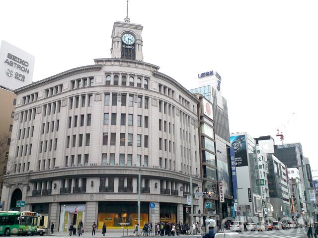 銀座の端(橋)に注目!東京・銀座で個性的な建築巡りをしよう!あの有名建築家の建築も!?