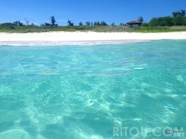 これが本当の水色!宮古島・与那覇前浜の海に浮かんで楽しく過ごそう!