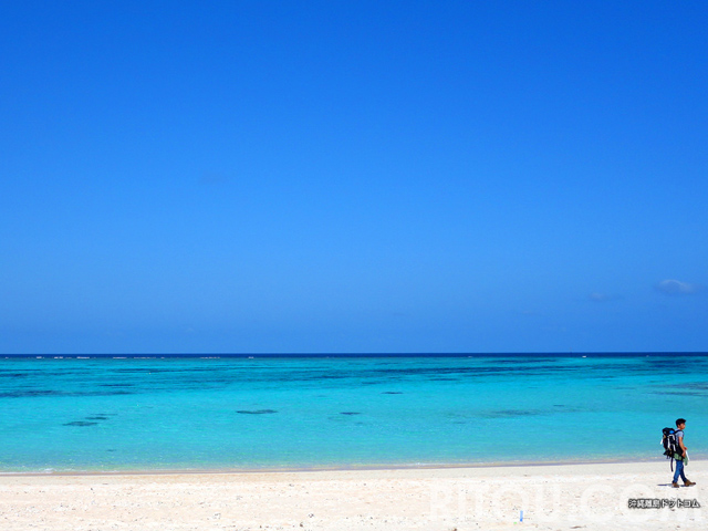 与論島といえばこのビーチ10選!その海の色、沖縄を越えた!