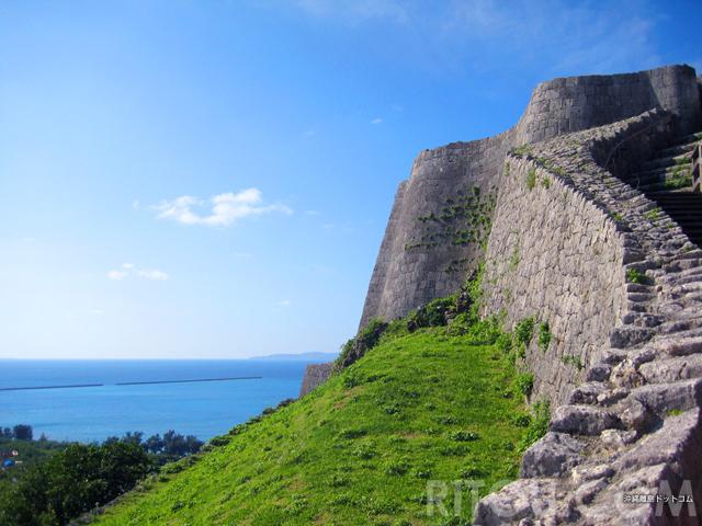 勝連城跡は沖縄のマチュピチュ!天空の城は世界遺産なのに無料!!