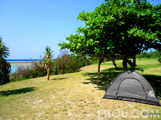 久米島キャンプ情報!奥武島/シンリ浜の2つのキャンプ場を徹底比較!!