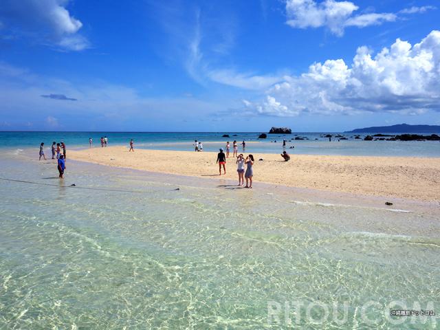 同じ形は二度とない幻の島!沖縄「浜島」は何度行っても楽しめる