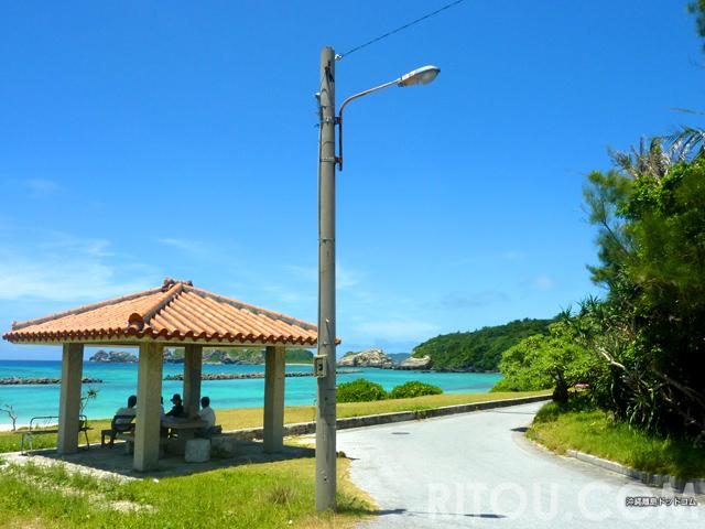 決定!沖縄の絶景吾妻屋ベスト5!!青い海と赤瓦の休憩所は最高のコンビネーション