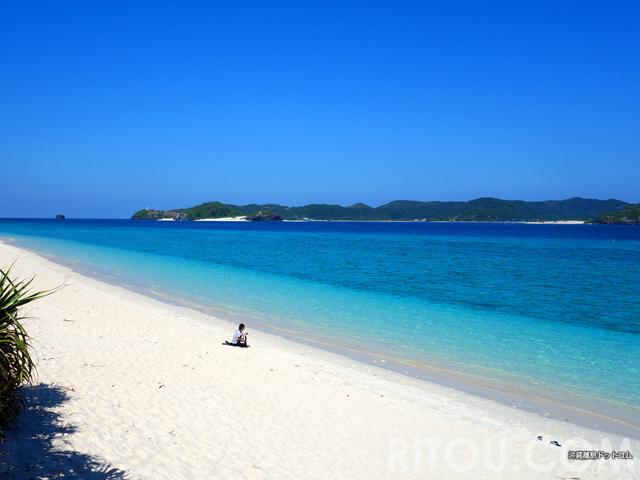 沖縄で最も海が綺麗な時期は冬!慶良間の阿嘉島で絶景ビーチを独り占め