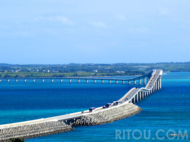日本最長「伊良部大橋」絶景スポット4選!宮古島と伊良部島から絶景橋を見よう!