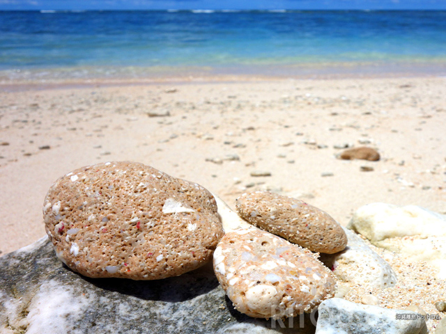 ここにしかない謎の石!日本最南端のビーチ「波照間島ペムチ浜」で探すべし!!