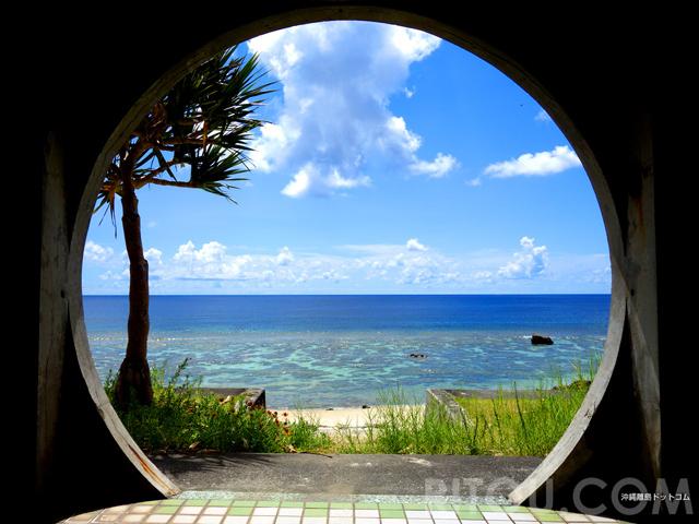 インスタフレーム不要!絶景ビーチが丸くなる与那国島ダンヌ浜