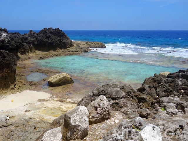 その名は「沖縄海」!沖縄最東端「北大東島」で唯一の海!?