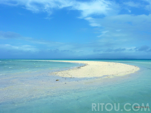ツアー不要!歩いて行ける「幻の浜」竹富島のコンドイビーチに有ります!!