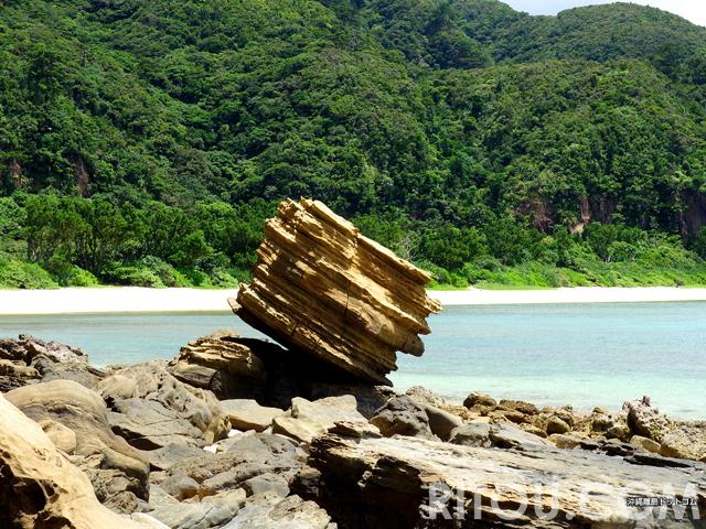 落ちない・転けない・滑らない!西表島には縁起のいい「岩」がある
