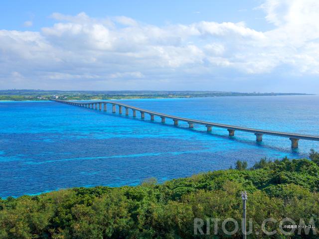 沖縄絶景橋No1は「来間大橋」その理由は5つの魅力に有り!